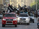 P�ehl�dka d�ih�dist� z ISIL v syrsk�m m�st� Rakk� (3. �ervna 2014)
