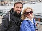 Roman Vojtek a Jitka Asterová ve Stockholmu