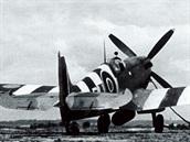 Spitfire 312. čs. stíhací perutě RAF během operace Overlord.