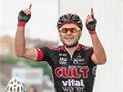 V�t�zem 2. etapy Czech Cycling Tour vyhr�l d�nsk� cyklista Martin Mortensem.