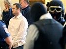 Závěr soudního procesu s únosci podnikatelů, které vedl Michael Šváb (na snímku). (18. července 2014)