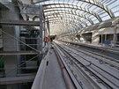 V budoucí kone�né stanici Motol je podobné koleji�t� jako na Hlavním nádra�í....