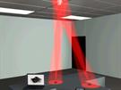 P�enos dat pomoc� sv�tla z LED ��rovek prost�ednictv�m Li-Fi