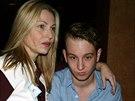 Tatum O�Nealov� a jej� syn Kevin McEnroe (New York, 1. �nora 2009)