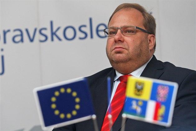 Moravskoslezský hejtman Miroslav Novák (�SSD).