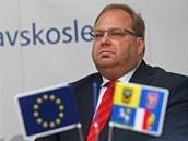 Moravskoslezský hejtman Miroslav Novák (ČSSD).