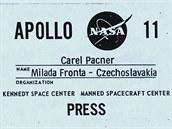 Apollo 11 - akreditace na kosmodrom