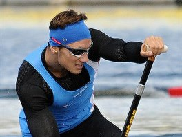 Martin Fuksa během světového šampionátu do 23 let