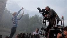 Jan Hus video z natá�ení