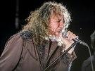 Jedním z vrcholů Colours of Ostrava 2014 se bezesporu stalo vystoupení Roberta Planta, bývalého frontmana legendární skupiny Led Zeppelin. (19. července 2014)