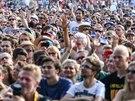 Na více než sto koncertů Colours of Ostrava 2014 byly zvědavy desetitisíce lidí. (19. července 2014)