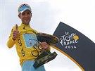 ŽRALOK Z MESSINY. Vincenzo Nibali suverénně vyhrál Tour de France 2014.