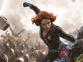 I v pokračování se diváci mohou těšit na jednotlivé komiksové superhrdiny bojující společně proti velké hrozbě. Na snímku Černá vdova v podání Scarlett Johanssonové