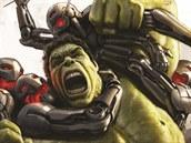Marvel uvolnil první koncepty k plakátům chystaného filmu Avengers: Age of Ultron