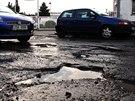 Pražská ulice U Seřadiště - vítěz ankety Nejhorší díra republiky