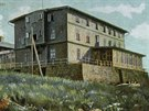 Takto vypadala Petrova bouda na přelomu 19. a 20. století.