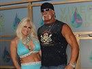 Linda Hoganová a Hulk Hogan (Miami, 28. srpna 2005)