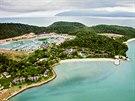 Hotel Vivanta na ostrůvku Taj Rebak u ostrova Langkawi, Malajsie