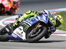 Valentino Rossi na trati Velké ceny Brna silničních motocyklů ve třídě MotoGP