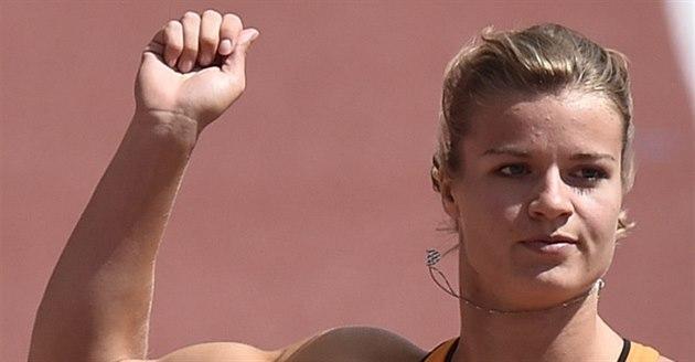 Nizozemská sprinterka Dafne Schippersová spokojená se svým výkone v rozb�hu na...