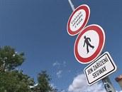 Na pražské Kampě je zakázán průjezd cyklistům a vozítkům segway.
