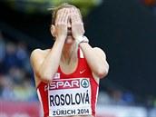 BRAMBOROVÁ DENISA. Denisa Rosolová doběhla ve finále 400 metrů překážek na ME v Curychu na čtvrtém místě.