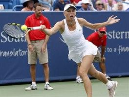 Carolina Wozniack� v semifin�le turnaje v Cincinnati