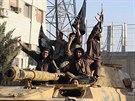 Přehlídka Islámského státu v Rakká