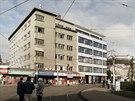 Pl�novan� podoba historick� budovy na Mendlov� n�m�st� v Brn�.