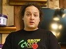 Majitel největšího pražského growshopu Grow City Michal Otipka