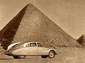 Miroslav Zikmund a Jiří Hanzelka na své první cestě 1947 - 1950. Egypt