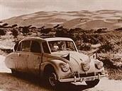 Miroslav Zikmund a Jiří Hanzelka na své první cestě 1947 - 1950.