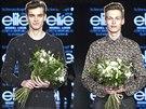 Poprvé patřila nejprestižnější modelingová soutěž Elite Model Look také mužům. Českou republiku bude v celosvětovém finále reprezentovat Josef Utěkal (vpravo), Slovensko Eduard Michalko (vlevo).