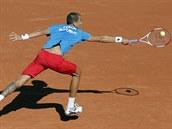 Český tenista Lukáš Rosol v semifinále Davis Cupu