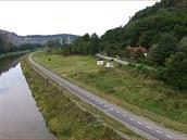 Nová cyklostezka vede ze Zbraslavi na Jarov a měří více než 2,5 kilometru  (18.9.2014)