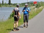 Břeh mostecké vodní nádrže Matylda lemuje 4,12 km dlouhý okruh vhodný pro cyklistiku, rekreační běh či inline bruslení.