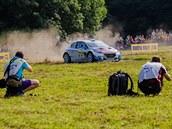 Rychlostní zkou�ka Slu�ovice p�i Barum Czech Rally Zlín 2014.