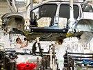 Návštěvníci nahlédli během oslav 80. výročí automobilky Škoda Auto v Kvasinách i do provozu na montáž. (23. 9. 2014)