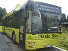 Nový autobus na plyn mohou cestující využít na nově zavedené lince č. 9.