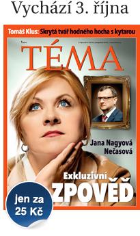 Týdeník TÉMA od 3. října za 25 Kč