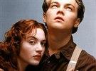 Kate Winsletová a Leonardo DiCaprio ve filmu Titanic (1997)