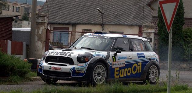 Václav Pech p�i Rallye P�íbram.