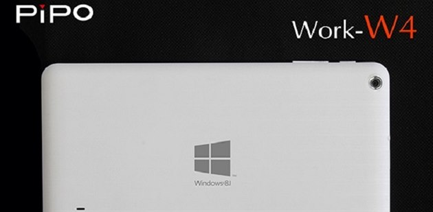 PiPO W4 je nejlevn�j�í tablet s Windows.