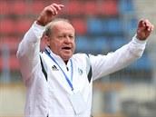 Leoš Kalvoda, trenér fotbalistů Olomouce.