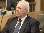 František Chvalovský u soudu 19.4. 2011