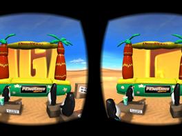 S tu���ky z Madagaskaru se m�ete na Samsungem Gear VR pod�vat na trailer k filmu.