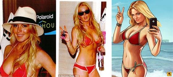 Lindsay Lohanov� versus Lacey Jonasov�