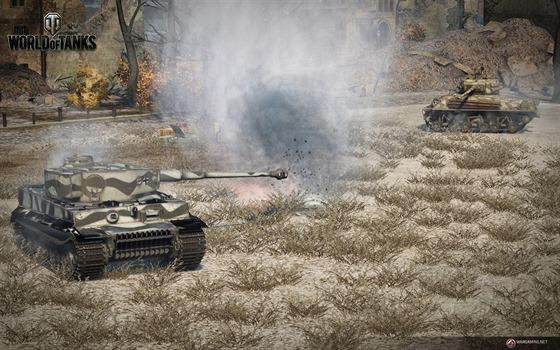 World of Tanks původně jako soutěživá hra nevznikal. Popularita titulu však vedla k profi ligám.