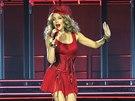 Kylie Minogue před měsícem v Londýně