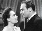 L�da Baarov� a Raoul Schr�nil ve filmu Za tich�ch noc� (1942)